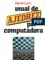 David Levy - Manual de Ajedrez Por Computadora