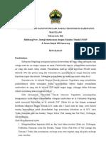 Penelitian Debit Dan Potensi Air, Sosial Ekonomi Di Kabupaten Magelang