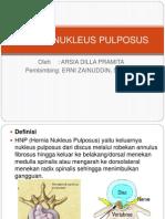 Crs Radio Hernia Nukleus Pulposus
