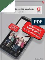 Olleh Mobile Service Guidebook English