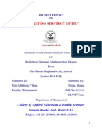 To Printproject Report on Itc