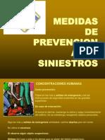Medidas de Prevencion Ante Siniestros