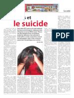 Les jeunes et le suicide à Maurice