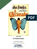 John Fowles - O Colecionador