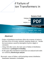 Final Causes of Failure of Distribution Transformers in India 1 [SearchToll]
