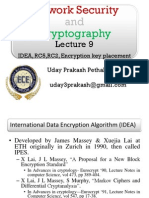 Network Security & Cryptography Lecture 9