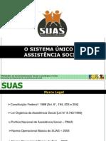 O Sistema Unico de Assistencia Social SUAS