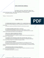 Acta 15 Junio 2012 Orden Del Dia