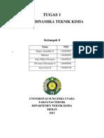 Tugas 1 Termodinamika TK (Kelompok 8)
