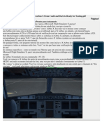 Versão traduzida de Aurbus X From Could and Dark to Ready for Taxiing
