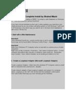 OBIEE 11g Complete Installation on Windows XP