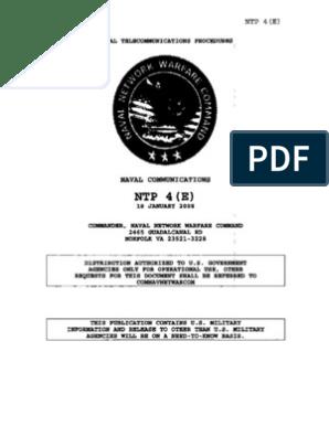 Naval Telecommunications | Telecommunication | Knowledge Management