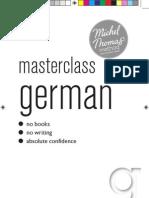 New Michel Thomas Masterclass German
