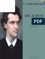 Ciprian Porumbescu - Mic album pt. pian