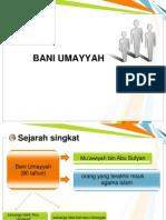 Ppt Bani Umayyah