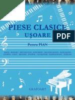 Piese clasice uşoare (album; pian)