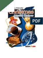 7 Family Friendly Christmas Dessert Recipes eCookbook