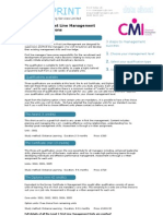 CMI Level 3 First Line Management Qualifications Guide