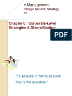 SM Ch-6 Corporate Level Strategies