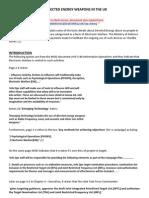 Directed Energy Weapons Abuse (UK) Basics