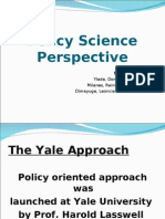 Policy Science Perspective