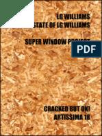 LG Williams/The Estate of LG Williams