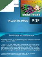 Taller Musicoterapia 16 Octubre