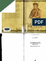 Agrippa, Cornelius - Numerología Oculta -