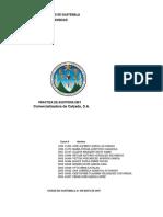 Practica Completa Auditoria III Comercializadora de Calzado