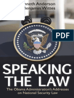 Speaking the Law (Chapter 1), by Kenneth Anderson and Benjamin Wittes