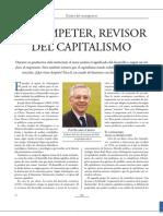 Artículo sobre Joseph Alois Schumpeter