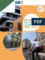 Bilan2007 2012 Du Plan Climat de Paris
