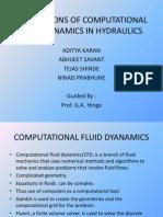 Applications of Computational Fluid Dynamics in Hydraulics