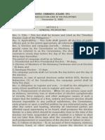 Omnibus Election Code - BP 881