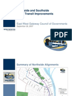 Northside and Southside Major Transit Improvements