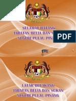 Slide Perasmian Jabatan
