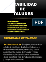 Estabilidad de Taludes G-12