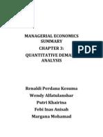 Managerial Economics Summary1