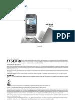 Nokia e71 English Manual