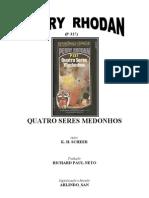 P-327 - Quatro Seres Medonhos - K. H. Scheer