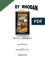 P-330 - Um Homem Igual a Rhodan - William Voltz