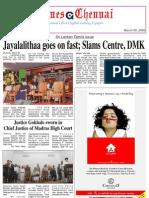 Times Chennai E-Paper, March 09, 2009