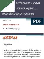 Aminas-Sales de Diazonio Alumnos