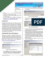 Installing SQL Server 2012 Express