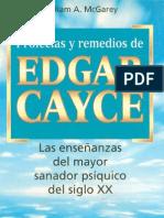 Cayce, Edgar - Profecías y Remedios