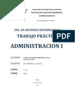 Trabajo Practico Administracion 1