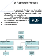 Consumer Research Process