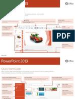 2013 PowerPoint Cheat Sheet
