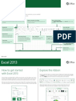 2013 Excel Cheat Sheet