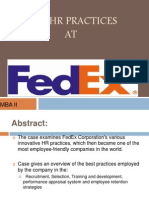 Fedex HR policies and practices